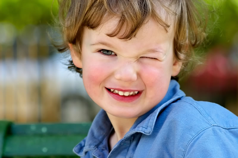 Woodstock Dentist - Children's Dentistry - young boy smiling